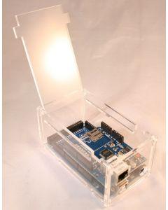 Plexiglas-Gehäuse für Arduino Mega mit Ethernet-Shield