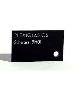 8 mm Plexiglas GS 9H01 schwarz