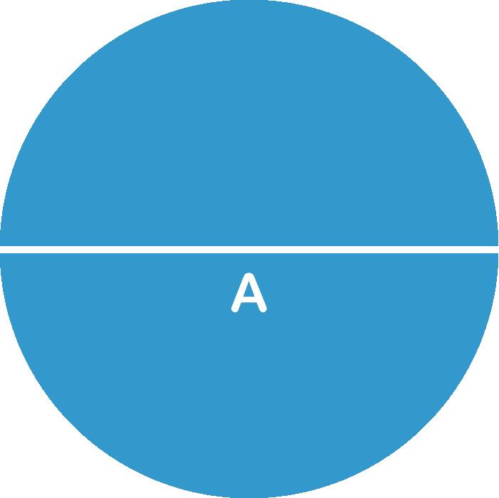 Circle (Square/Rectangle Formula)